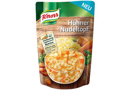 Knorr soup pouch