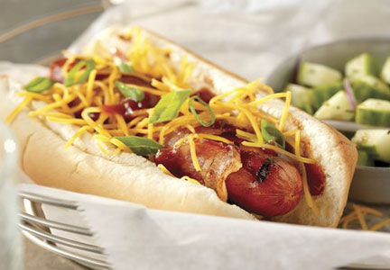 Kraft Memphis-style hot dog