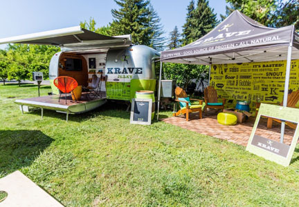 KRAVE Airstream Tour