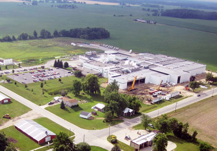 Cargill Value Added Protein egg processing facility in Lake Odessa, Michigan