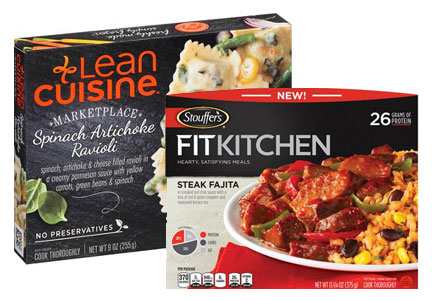 Nestle recently refreshed its Lean Cuisine and Stouffer's line.