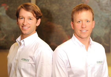 Carl and Charles George are the fourth generation to lead George's Inc.