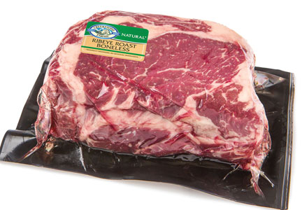 Creekstone Farms case-ready beef ribeye