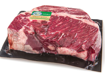 Creekstone Farms case-ready beef chuck