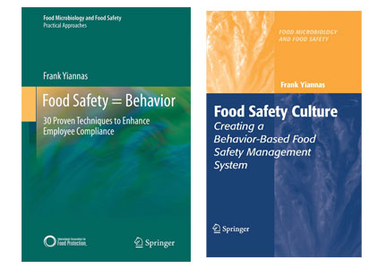 Food safety books by Frank Yiannas