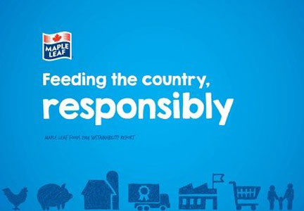 Maple Leaf Foods has launched a comprehensive sustainability initiative.