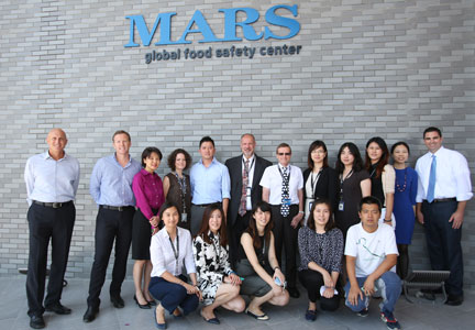 Mars Inc. wants to collaborate on food safety systems.