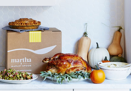 Martha & Marley Spoon Thanksgiving Box