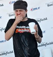 Matt Stonie, competitive eater