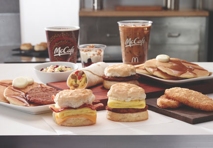 All-day breakfast at McDonald's restaurants begins in October.