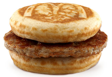 McDonald's sausage McGriddle
