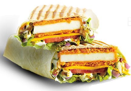McDonald's Big Spicy paneer wrap