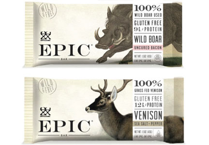 Epic wild game meat bars