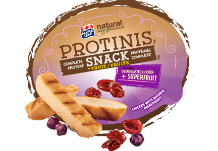 Maple Leaf Foods expanded its line of Protinis protein snacks.
