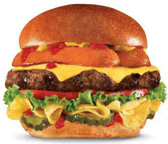 Hardee's, Carl's Jr. Most American Thickburger