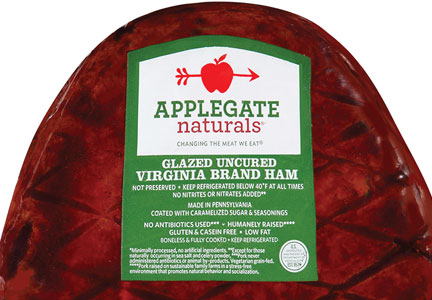 Applegate uncured ham