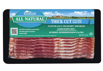 Farmland All-Natural Thick-cut bacon