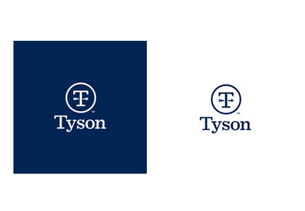 New Tyson Foods corporate logo