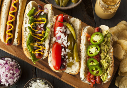 Hot dogs and sausage top MLB's concession rosters