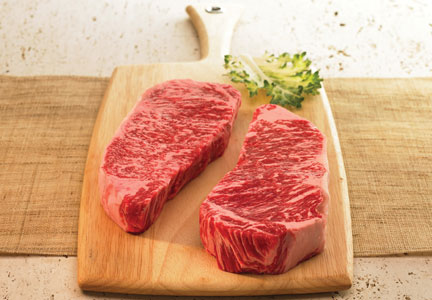All the products made by HeartBrand are certified Akaushi Beef.