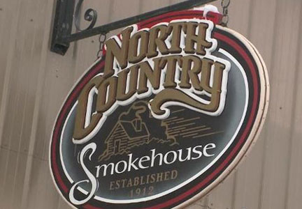 North Country Smokhouse sign