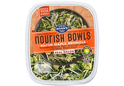 Nourish Bowls Bacon Maple Brussels