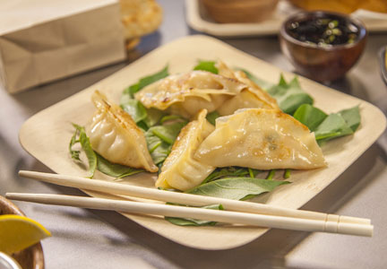Street food-inspired dishes, such as dumplings, will be a major food trend in 2017, according to the National Restaurant Association.