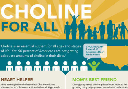 Choline For All infographic