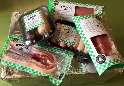 O'Neills Bacon Co.  breakfast box