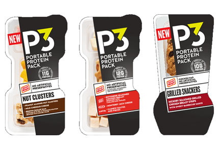 Oscar Mayer's new P3 Portable Protein Packs flavors
