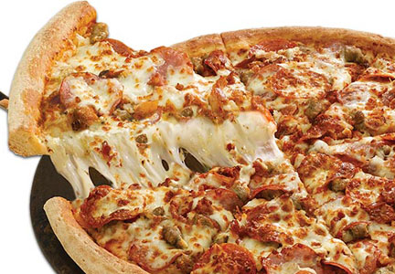 Papa johns pizza gets ultimate treatment meat poultry - Papa john s pizza garden fresh pizza ...
