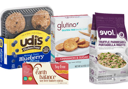 Boulder Brands gluten-free products