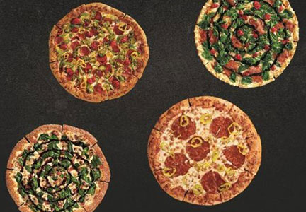 Pizza Hut's foodie pizzas