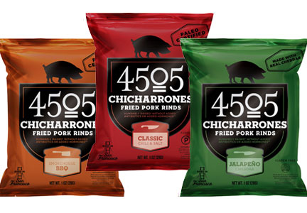 4505 Chicharrones was showcased in new packaging and flavors at Expo East in Baltimore.