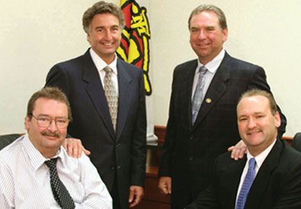 Jack Maas, Jr., Joe Maas, Tony Maas and Jerry Maas