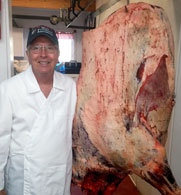 Jerry Haun, a small meat processor in Walla Walla, Wash., says beef exports have supported higher prices