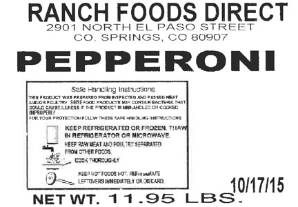 Good Food Concepts launched a recall of approximately 12,566 lbs. of beef, pork and poultry products.