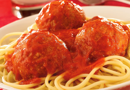 Meatballs are ideal candidates for protein fortification.