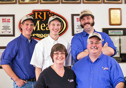 RJ's Meats, Reams family photo