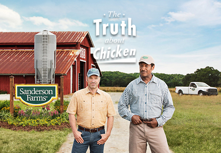 Sanders Farms' Truth About Chicken campaign
