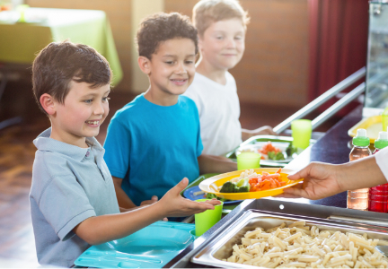 changes to breakfast and lunch programs The annual payments and rates adjustments for the national school lunch and  school breakfast programs reflect changes in the food away.