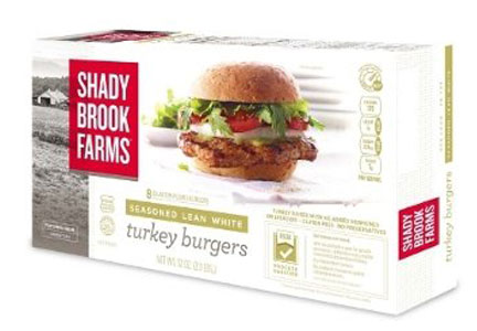 Shady Brook Farms turkey burgers