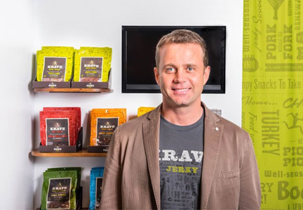 Shane Chambers, Krave Pure Foods meat snacks and jerky
