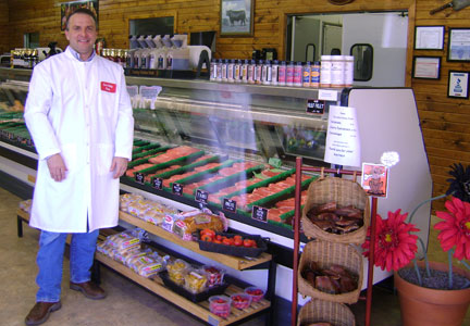 Dave Alwas has operated Echo Valley Meats since 1998.