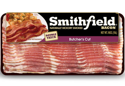 Smithfield butcher's cut bacon