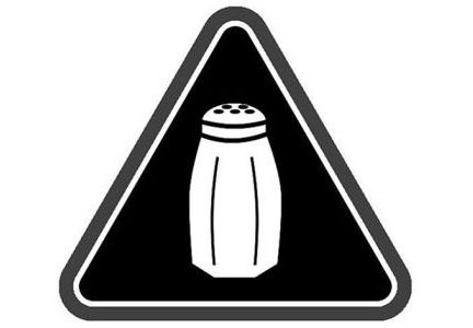 New York is the first state to require warning labels on high-sodium menu items.