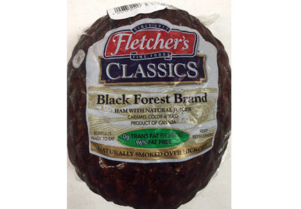 502 Boundary Blvd. launched a recall of Black Forest ham products produced by Sofina Foods Inc.