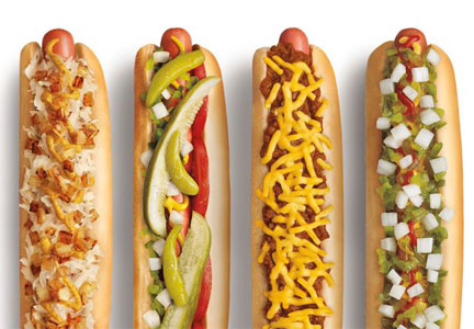 Sonic Drive-In footlong hot dogs