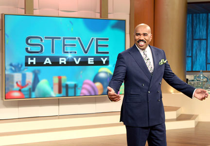 'Family Feud' host Steve Harvey has launched a line of smoked meats that includes roasted bacon.