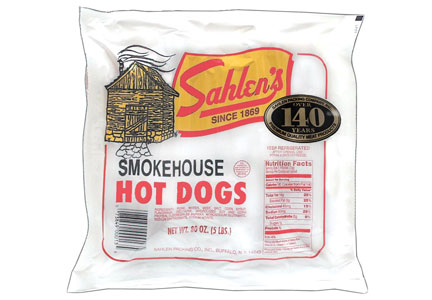 Sahlen's Smokehouse Hot Dogs